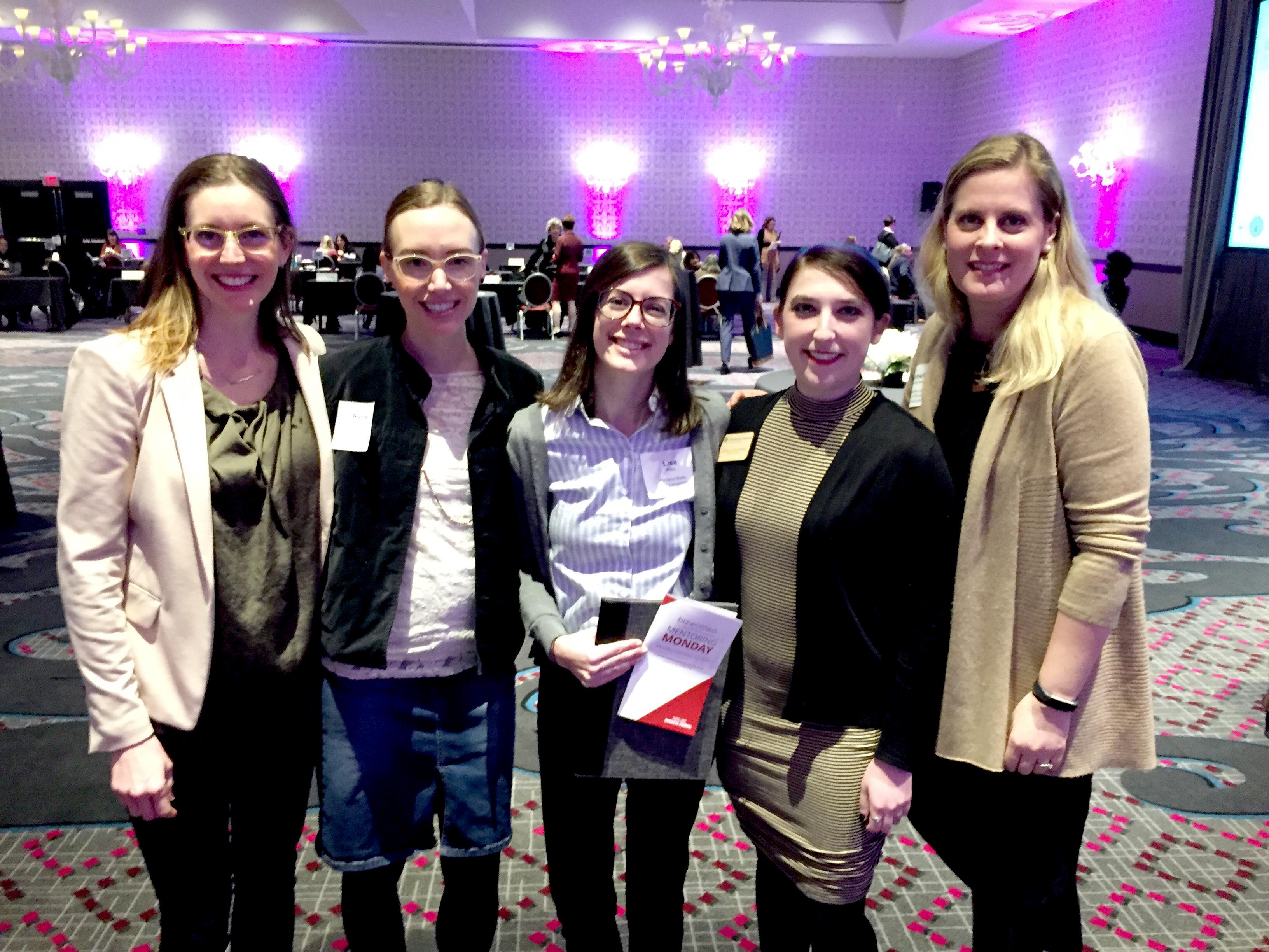 Kristin Culpepper, Rachel Mattenberger, Lisa Pitt, Ariella Frishberg, and Tichelle Sorensen
