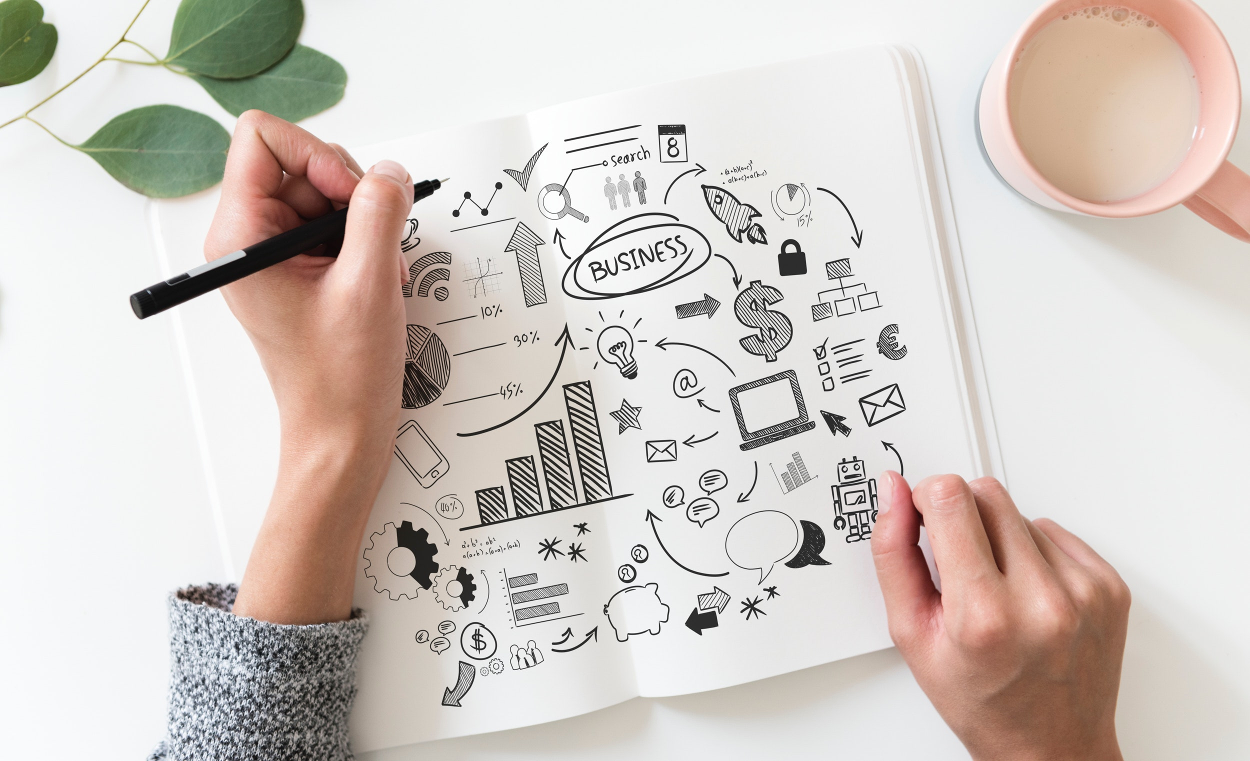 Business brainstorming image