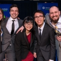 MSF students at CFA Institute Research Challenge in New York City