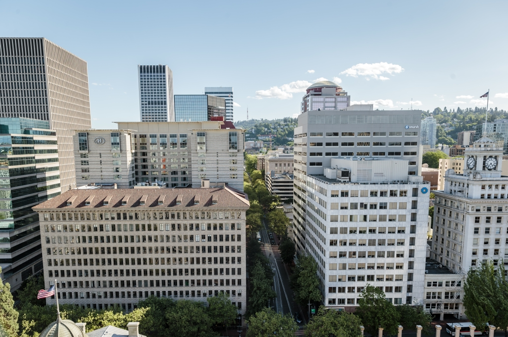 City of Portland skyline